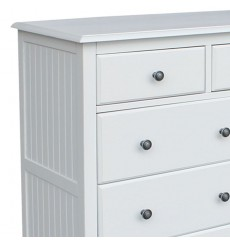 [34 inch] Cottage 6 Drawer Chest