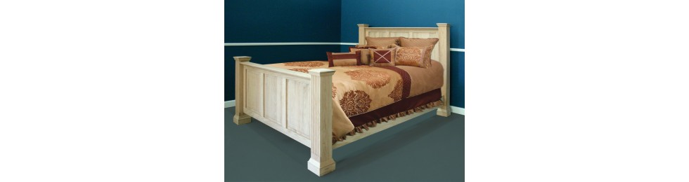 Fluted Bedroom Collection
