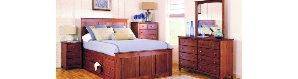 Alder Shaker Bedroom Collection