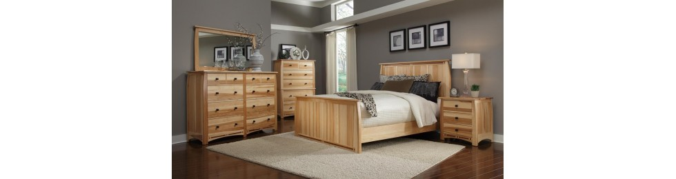Aberdeen Hickory Bedroom Collection