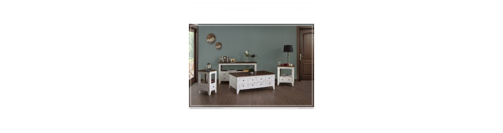 White Antique Rustic Collection